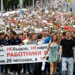 Lukashenko says Putin has offered help as Belarus gears for 'March of Freedom'