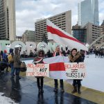 Protesters pack Belarus capital after Russia says military help available